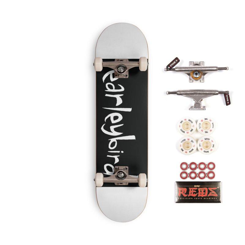 Earleybird logo Accessories Skateboard by birdboogie's Artist Shop