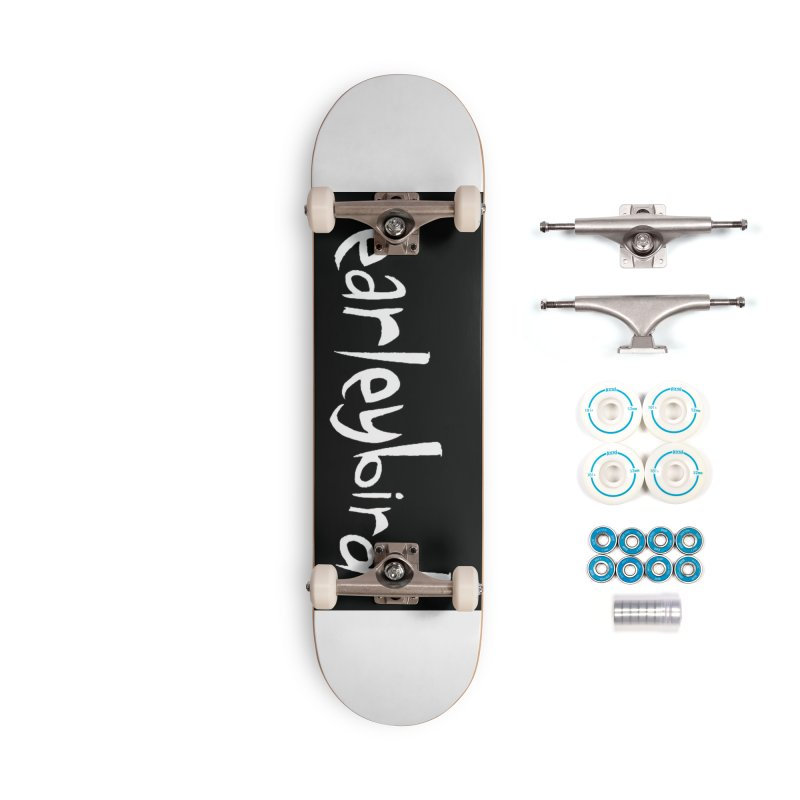 Earleybird logo Accessories Skateboard by birdboogie's Artist Shop