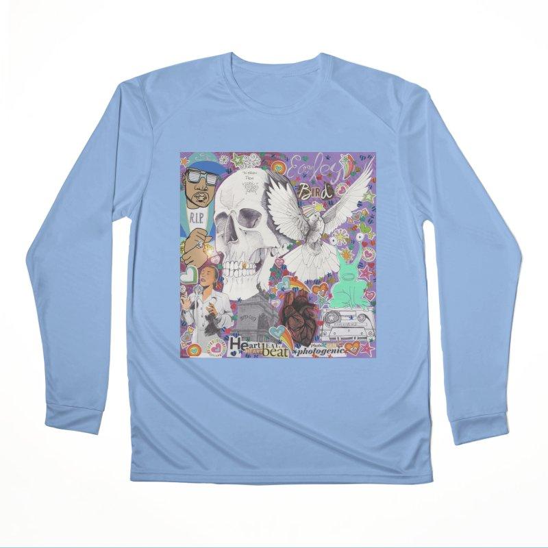 Heartbeat Photogenic Men's Longsleeve T-Shirt by birdboogie's Artist Shop