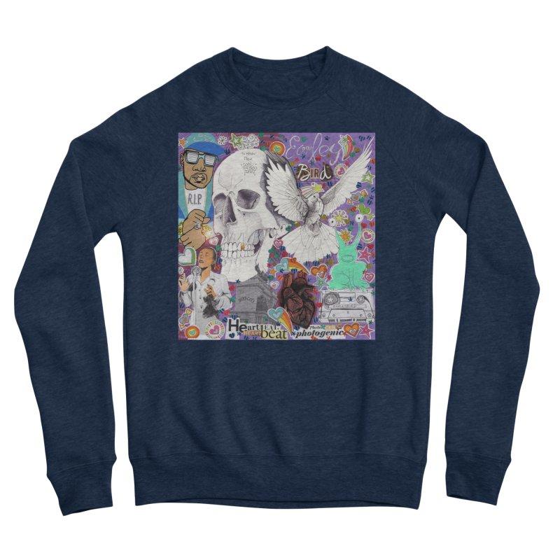 Heartbeat Photogenic Men's Sweatshirt by birdboogie's Artist Shop