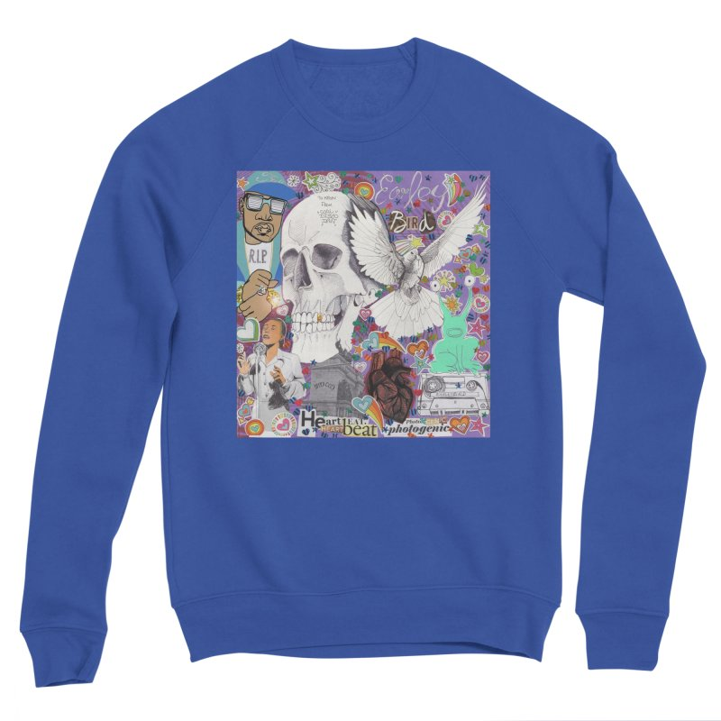 Heartbeat Photogenic Men's Sweatshirt by birdboogie's Artist Shop