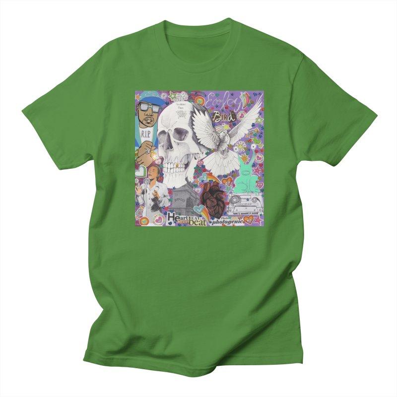 Heartbeat Photogenic Men's T-Shirt by birdboogie's Artist Shop
