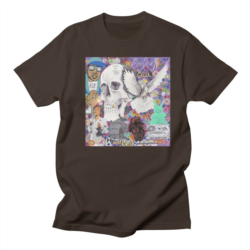 Heartbeat Photogenic Men's T-Shirt by birdboogie's Artist Shop