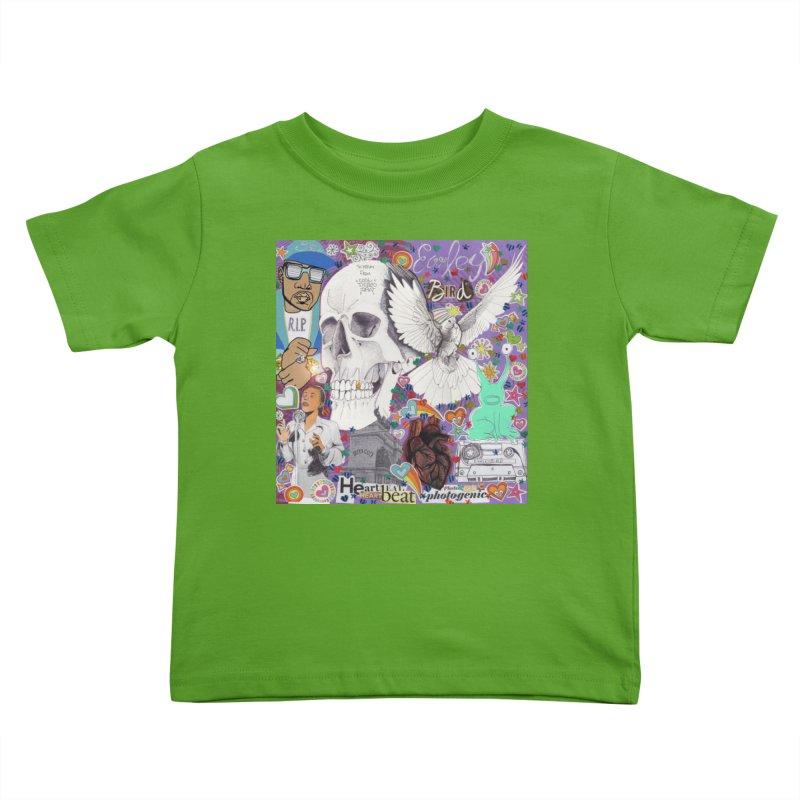 Heartbeat Photogenic Kids Toddler T-Shirt by birdboogie's Artist Shop