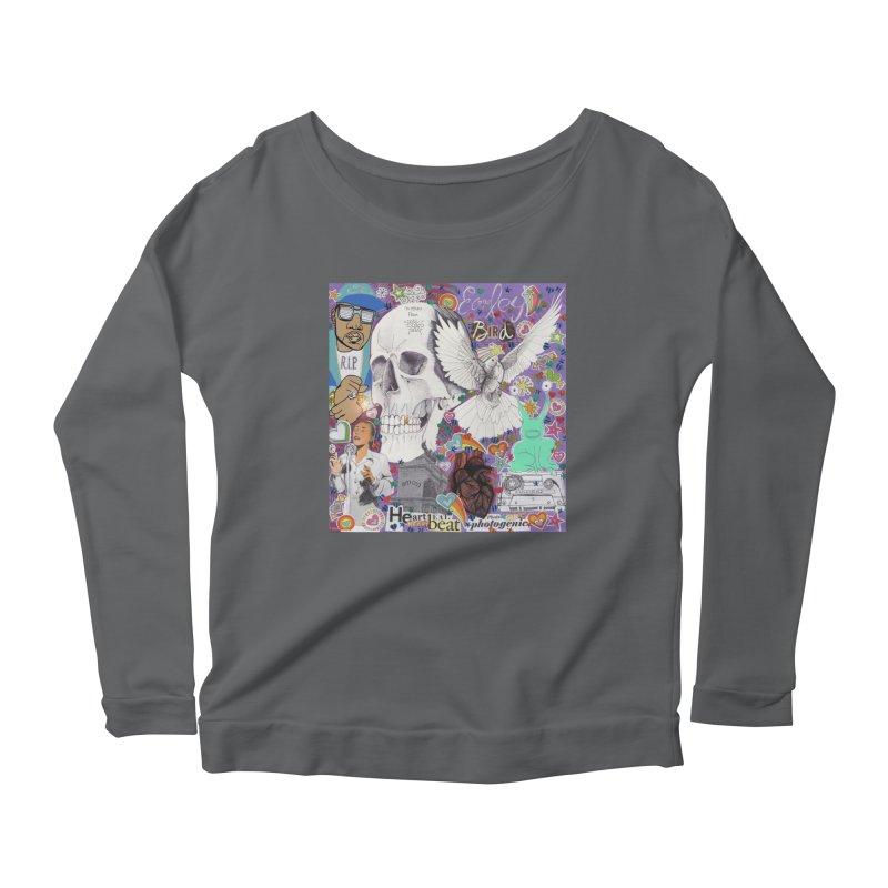 Heartbeat Photogenic Women's Longsleeve T-Shirt by birdboogie's Artist Shop