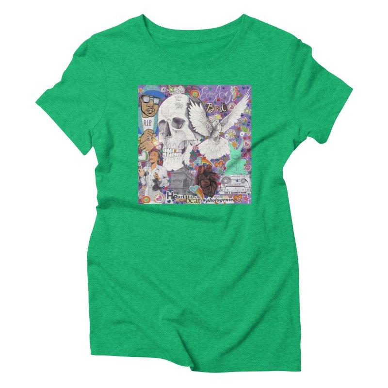 Heartbeat Photogenic Women's T-Shirt by birdboogie's Artist Shop