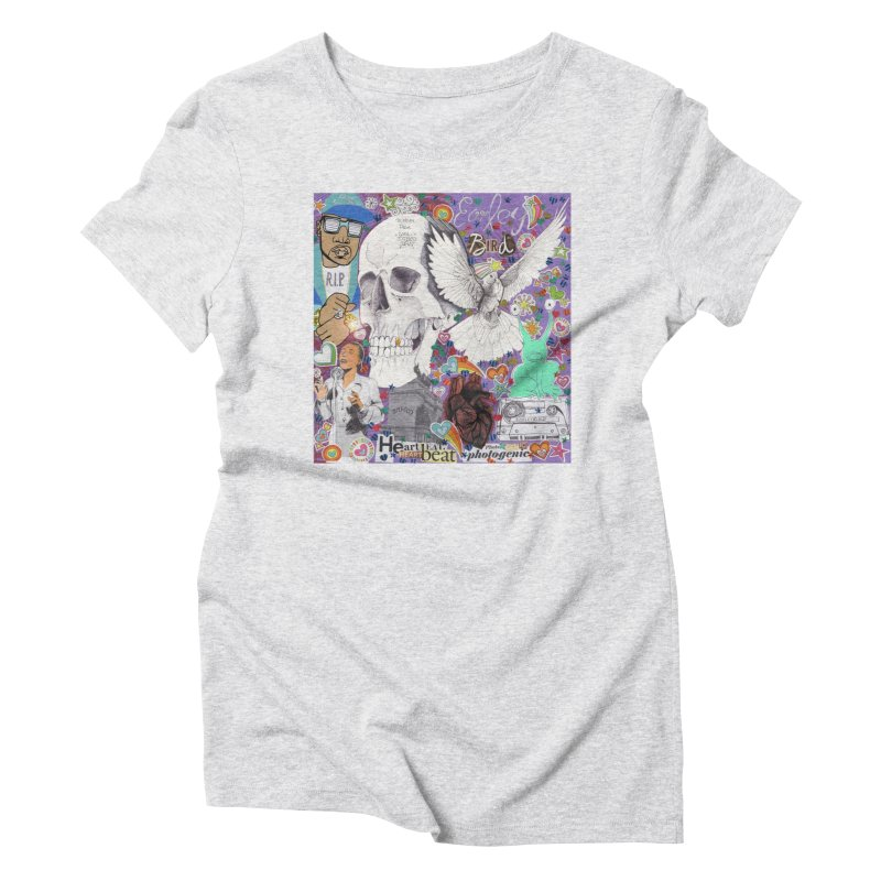 Heartbeat Photogenic Women's T-Shirt by birdboogie's Artist Shop
