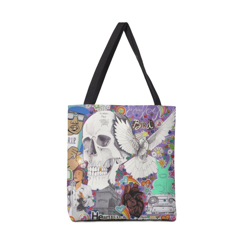 Heartbeat Photogenic Accessories Bag by birdboogie's Artist Shop