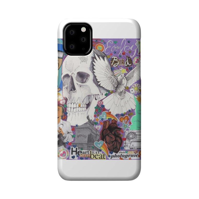 Heartbeat Photogenic Accessories Phone Case by birdboogie's Artist Shop