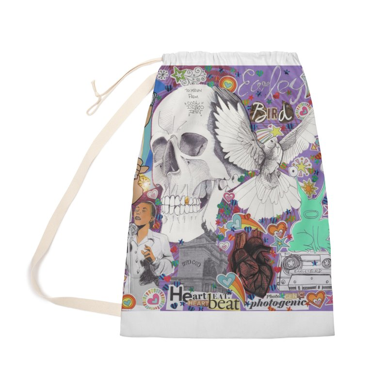 Heartbeat Photogenic Accessories Bag by birdboogie's Artist Shop