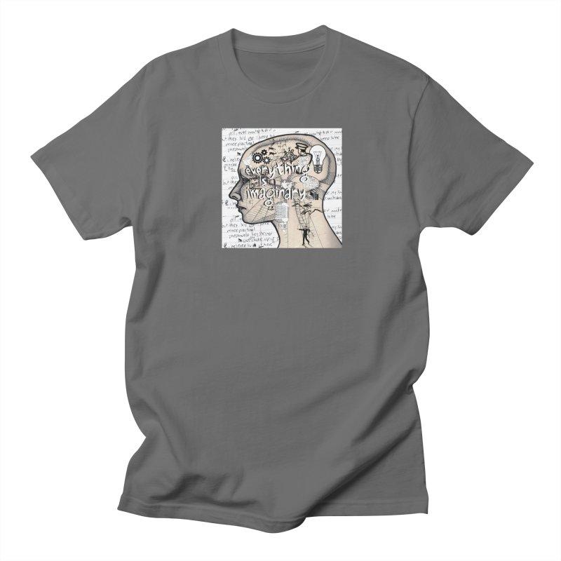 Everything is Imaginary 2 Men's T-Shirt by birdboogie's Artist Shop