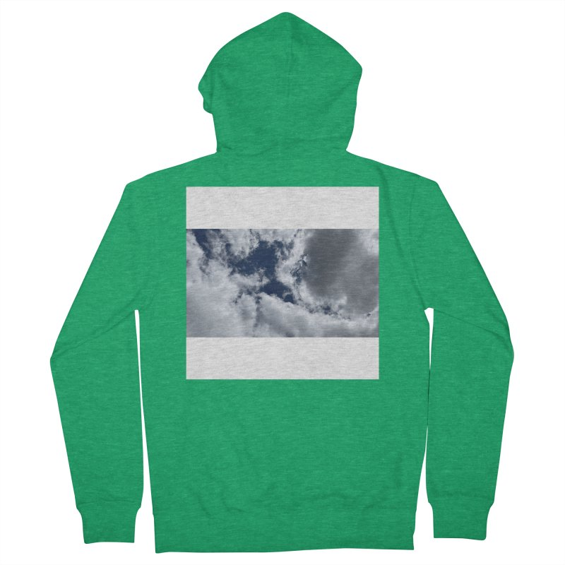 Everything Is Imaginary Men's Zip-Up Hoody by birdboogie's Artist Shop