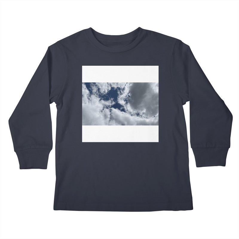 Everything Is Imaginary Kids Longsleeve T-Shirt by birdboogie's Artist Shop