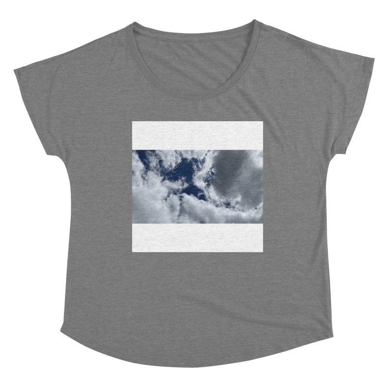 Everything Is Imaginary Women's Scoop Neck by birdboogie's Artist Shop