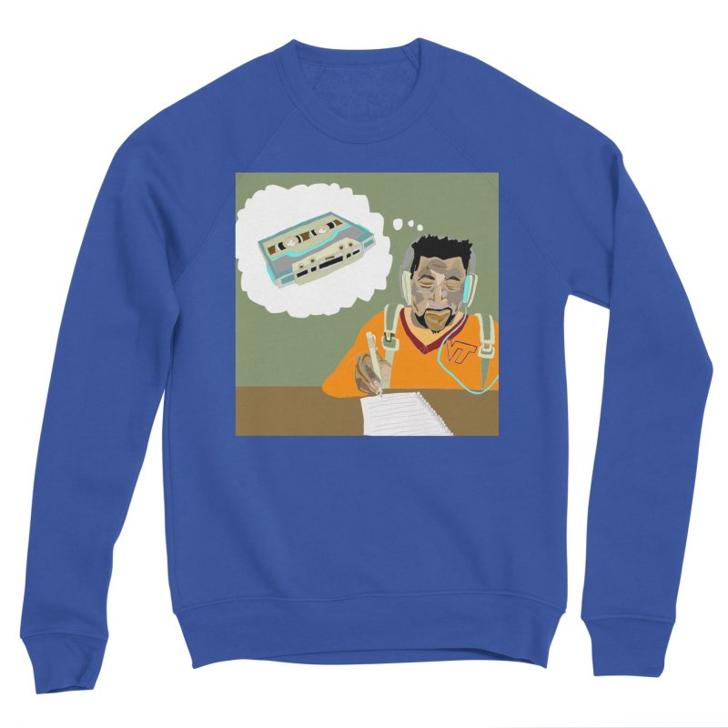 Mad Squirrel Men's Sweatshirt by birdboogie's Artist Shop