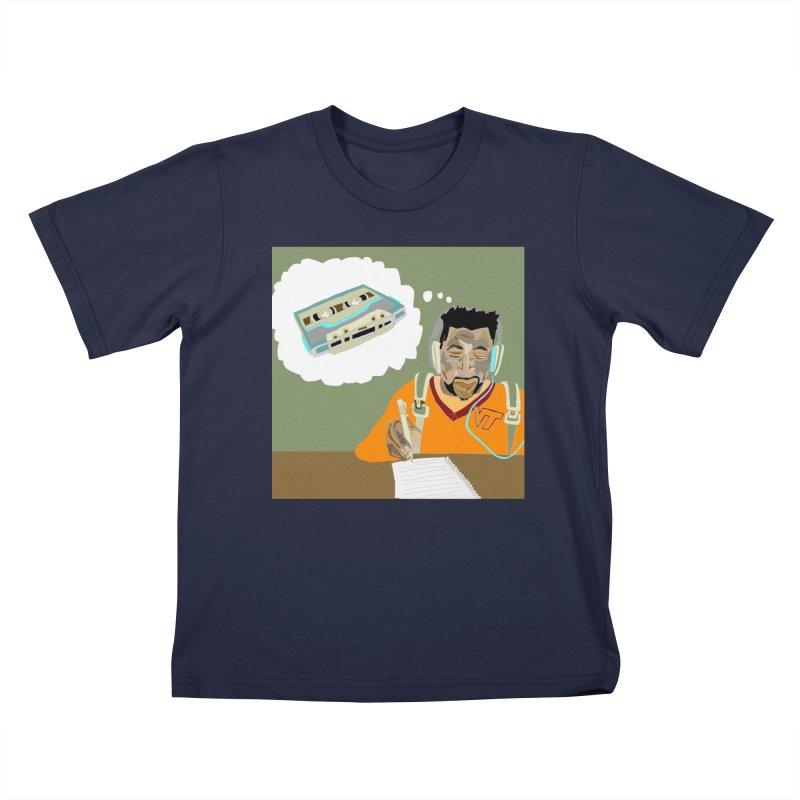 Mad Squirrel Kids T-Shirt by birdboogie's Artist Shop