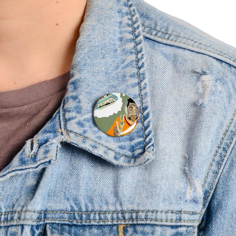 Mad Squirrel Accessories Button by birdboogie's Artist Shop