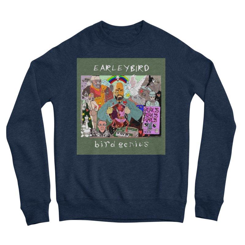 BIRD GENIUS Men's Sweatshirt by birdboogie's Artist Shop
