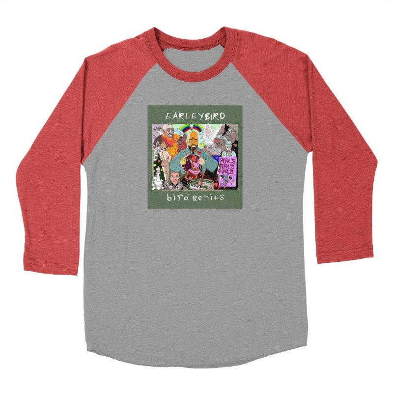BIRD GENIUS Men's Longsleeve T-Shirt by birdboogie's Artist Shop
