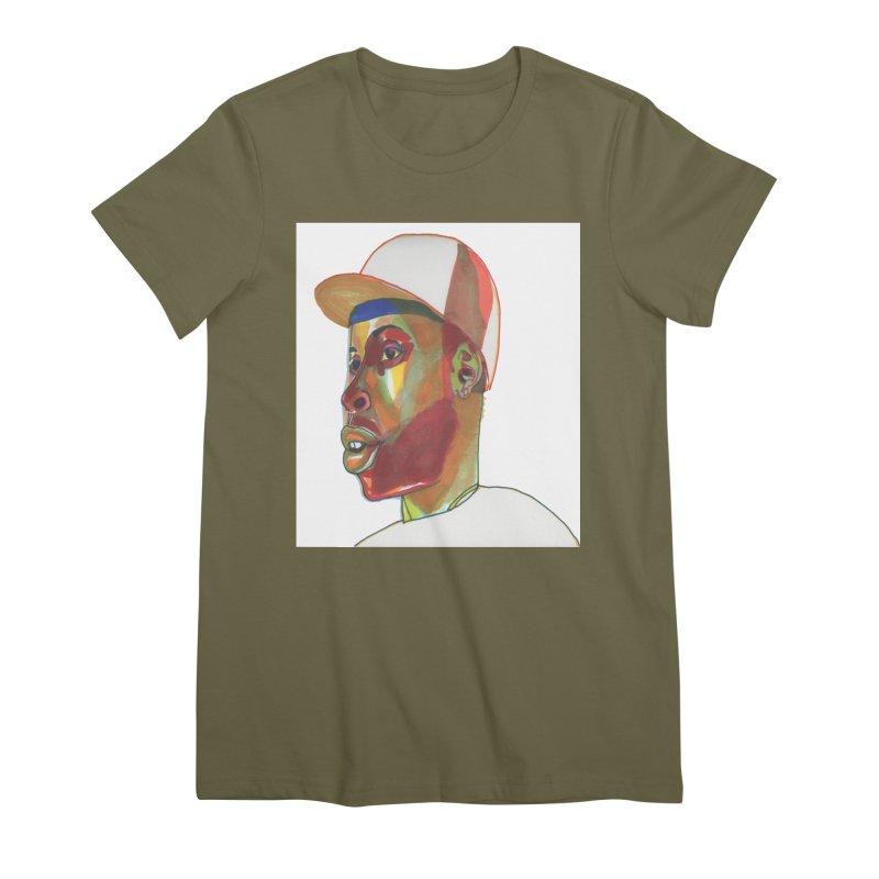 JDILLA Women's Premium T-Shirt by birdboogie's Artist Shop