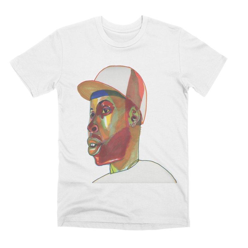 JDILLA Men's Premium T-Shirt by birdboogie's Artist Shop