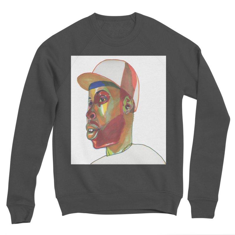 JDILLA Men's Sponge Fleece Sweatshirt by birdboogie's Artist Shop