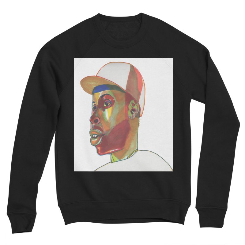 JDILLA Women's Sponge Fleece Sweatshirt by birdboogie's Artist Shop