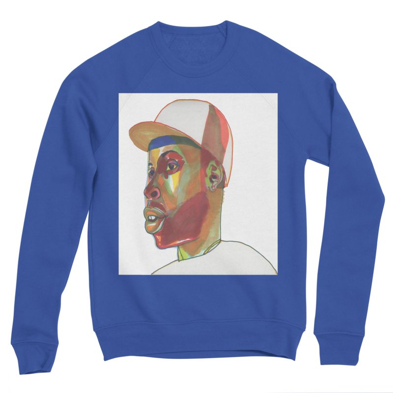 JDILLA Men's Sponge Fleece Sweatshirt by birdboogie's Artist Shop