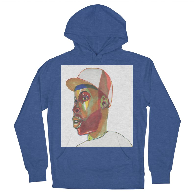 JDILLA Men's French Terry Pullover Hoody by birdboogie's Artist Shop