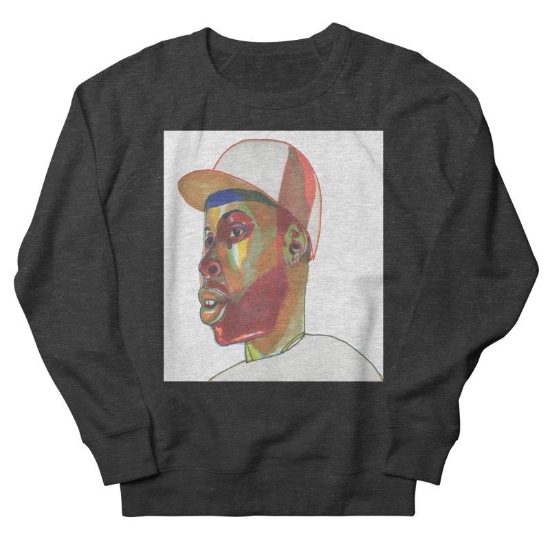 JDILLA Men's French Terry Sweatshirt by birdboogie's Artist Shop