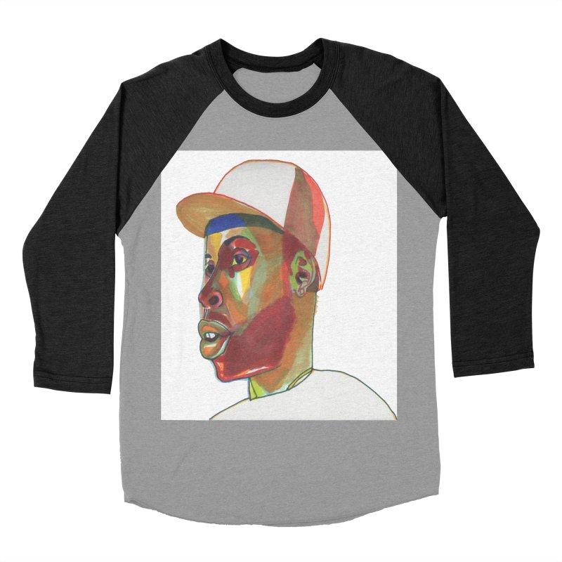 JDILLA Women's Baseball Triblend Longsleeve T-Shirt by birdboogie's Artist Shop