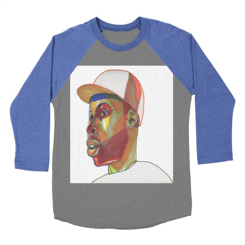 JDILLA Men's Baseball Triblend Longsleeve T-Shirt by birdboogie's Artist Shop