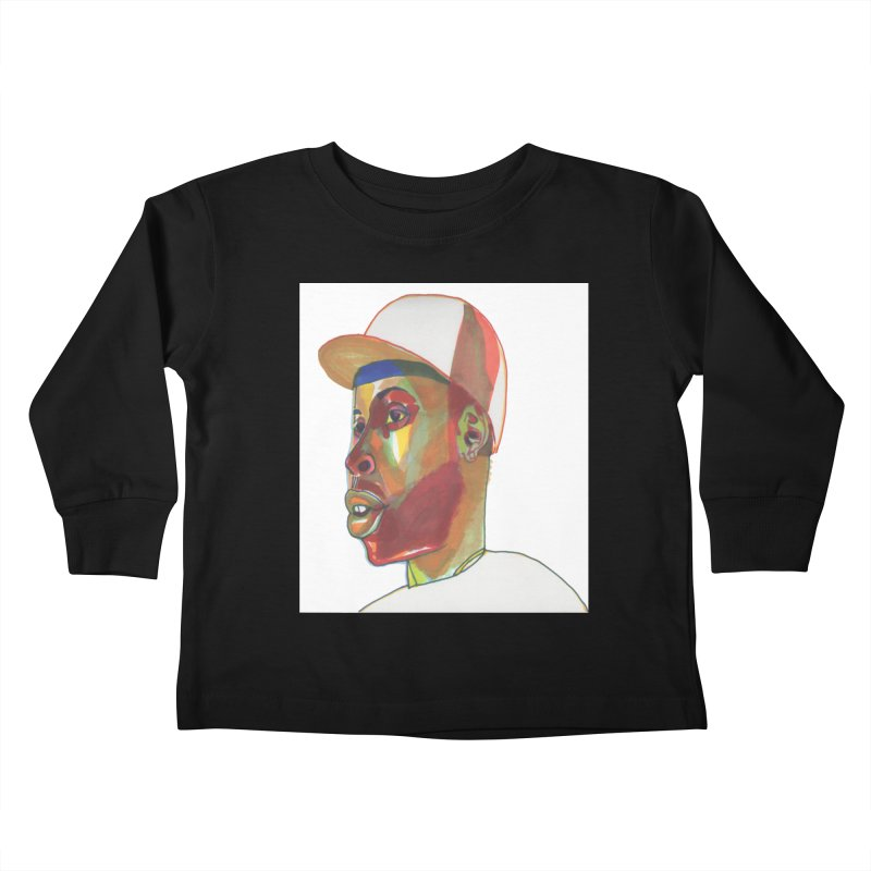 JDILLA Kids Toddler Longsleeve T-Shirt by birdboogie's Artist Shop