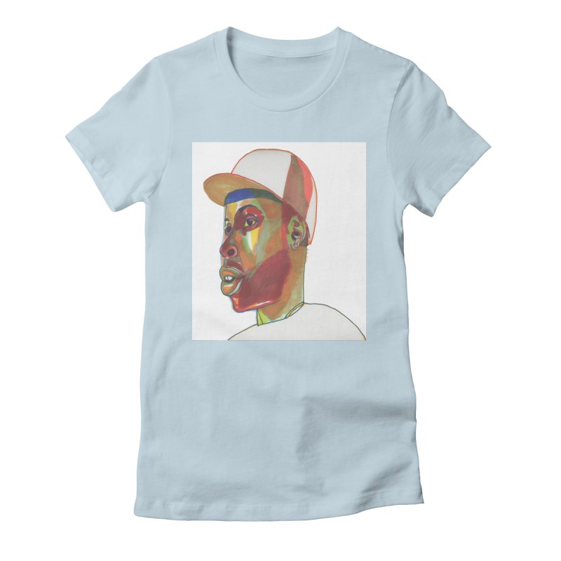JDILLA Women's Fitted T-Shirt by birdboogie's Artist Shop