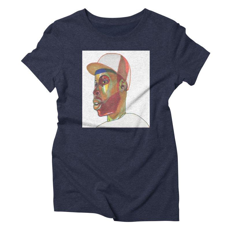 JDILLA Women's Triblend T-Shirt by birdboogie's Artist Shop