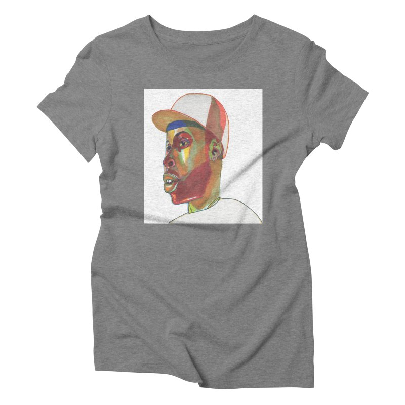 JDILLA Women's Triblend T-Shirt by birdboogie's Artist Shop