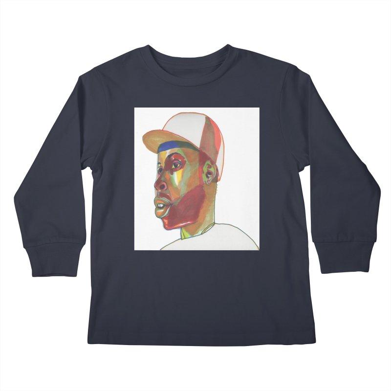 JDILLA Kids Longsleeve T-Shirt by birdboogie's Artist Shop