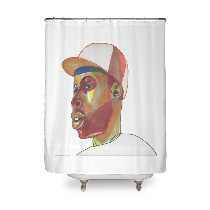 JDILLA Home Shower Curtain by birdboogie's Artist Shop