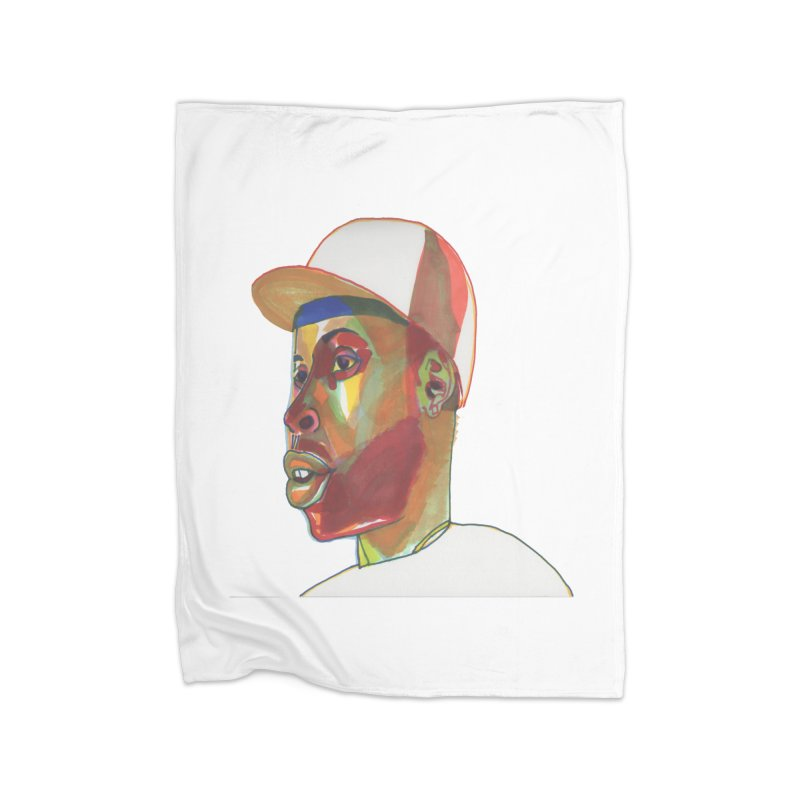 JDILLA Home Fleece Blanket Blanket by birdboogie's Artist Shop