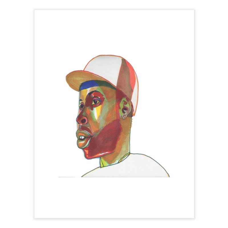 JDILLA Home Fine Art Print by birdboogie's Artist Shop