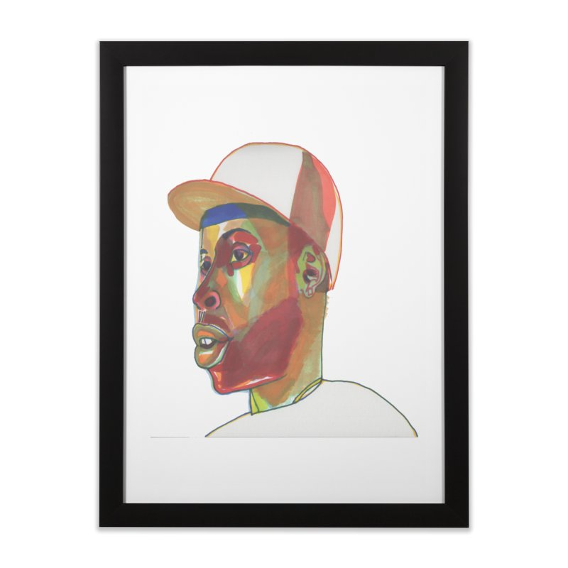 JDILLA Home Framed Fine Art Print by birdboogie's Artist Shop