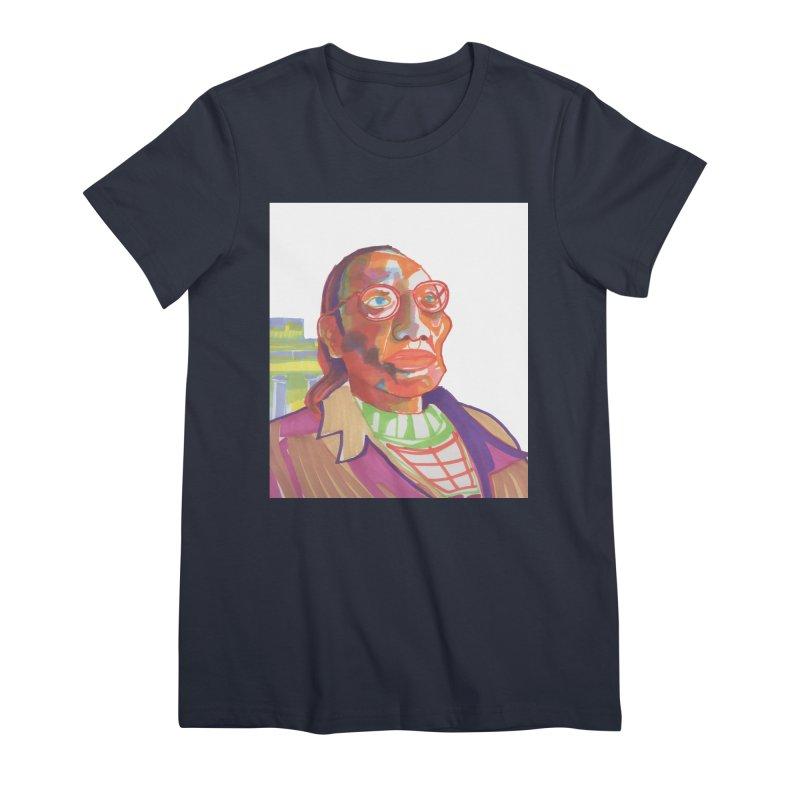 Nathan Phillips Women's Premium T-Shirt by birdboogie's Artist Shop