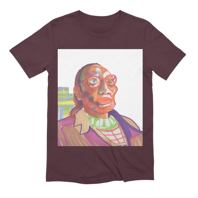 Nathan Phillips Men's Extra Soft T-Shirt by birdboogie's Artist Shop