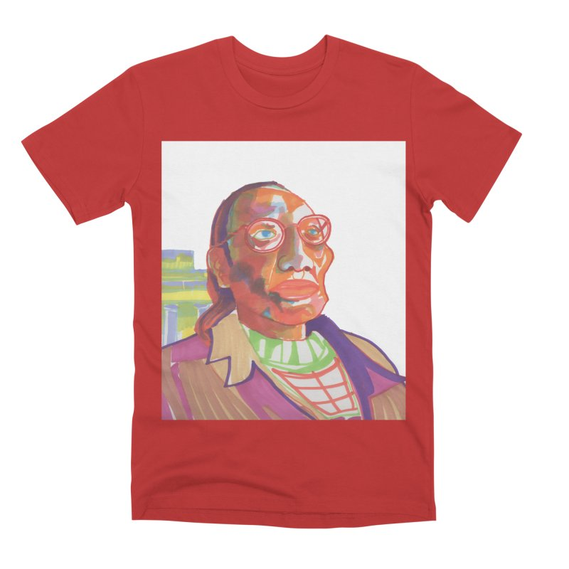 Nathan Phillips Men's Premium T-Shirt by birdboogie's Artist Shop