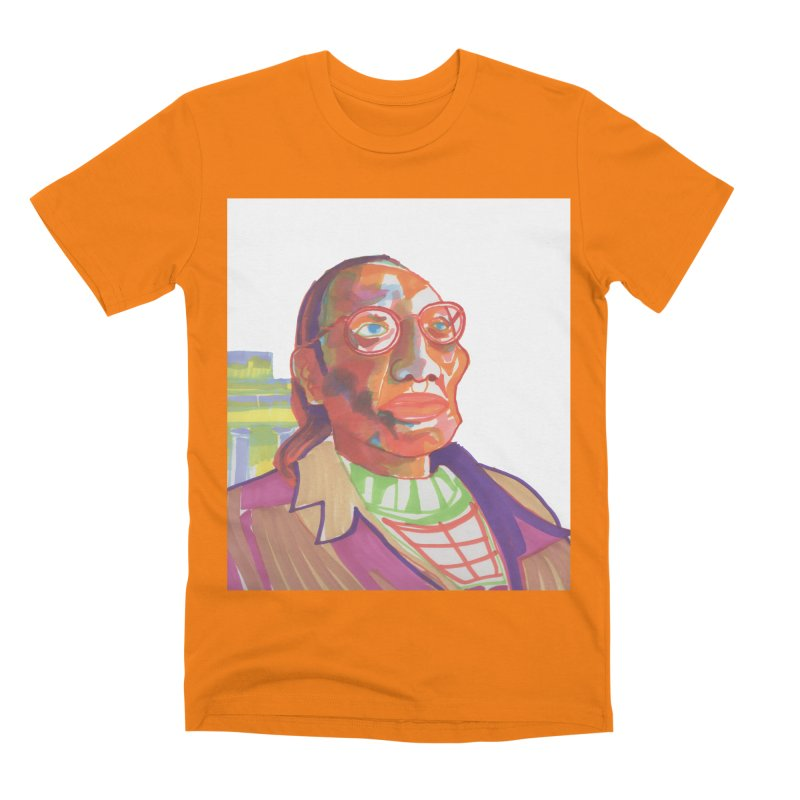 Nathan Phillips Men's T-Shirt by birdboogie's Artist Shop