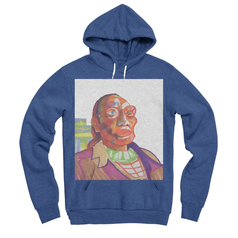 Nathan Phillips Women's Sponge Fleece Pullover Hoody by birdboogie's Artist Shop