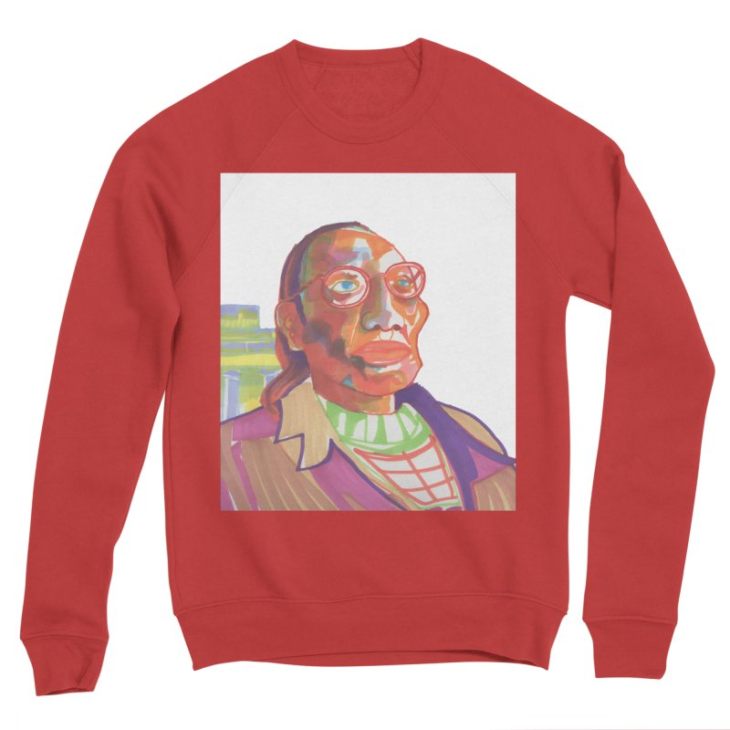 Nathan Phillips Men's Sponge Fleece Sweatshirt by birdboogie's Artist Shop