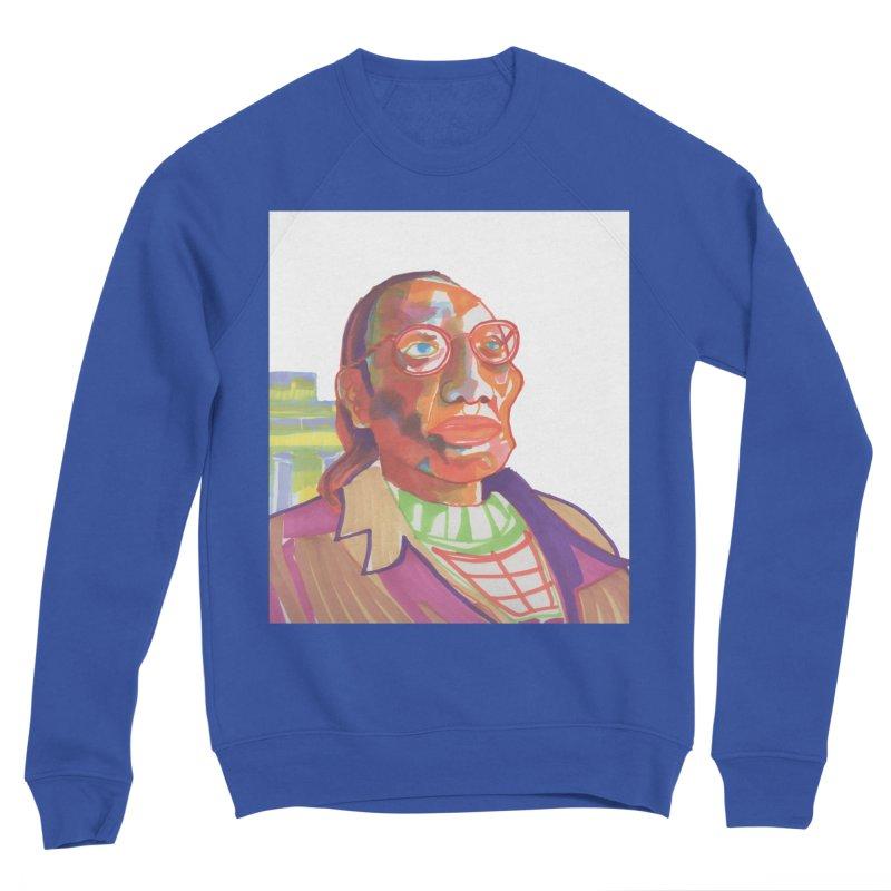 Nathan Phillips Men's Sponge Fleece Sweatshirt by birdboogie's Artist Shop