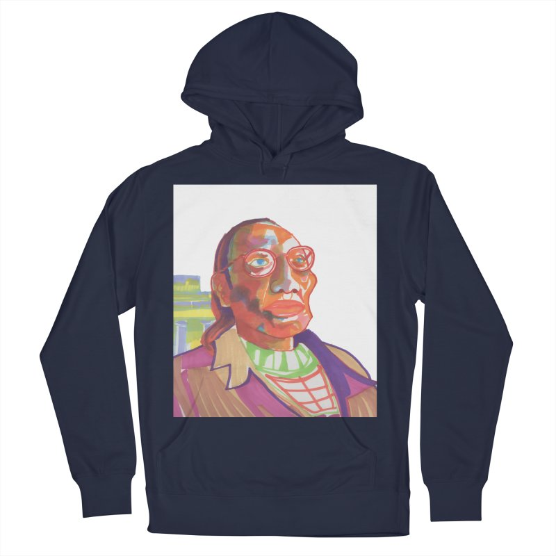 Nathan Phillips Women's French Terry Pullover Hoody by birdboogie's Artist Shop