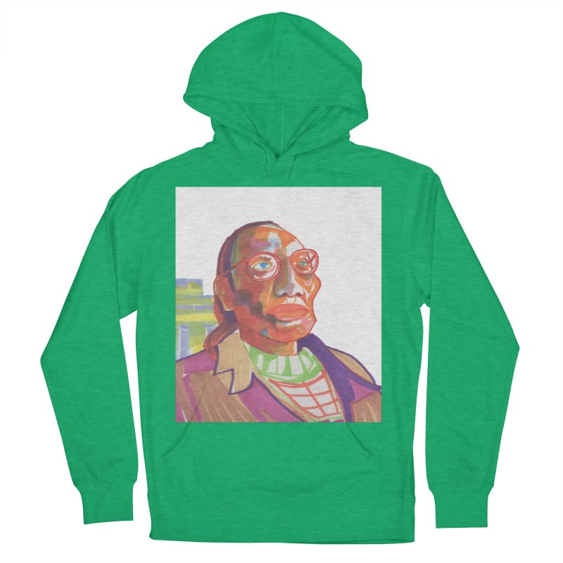 Nathan Phillips Men's French Terry Pullover Hoody by birdboogie's Artist Shop